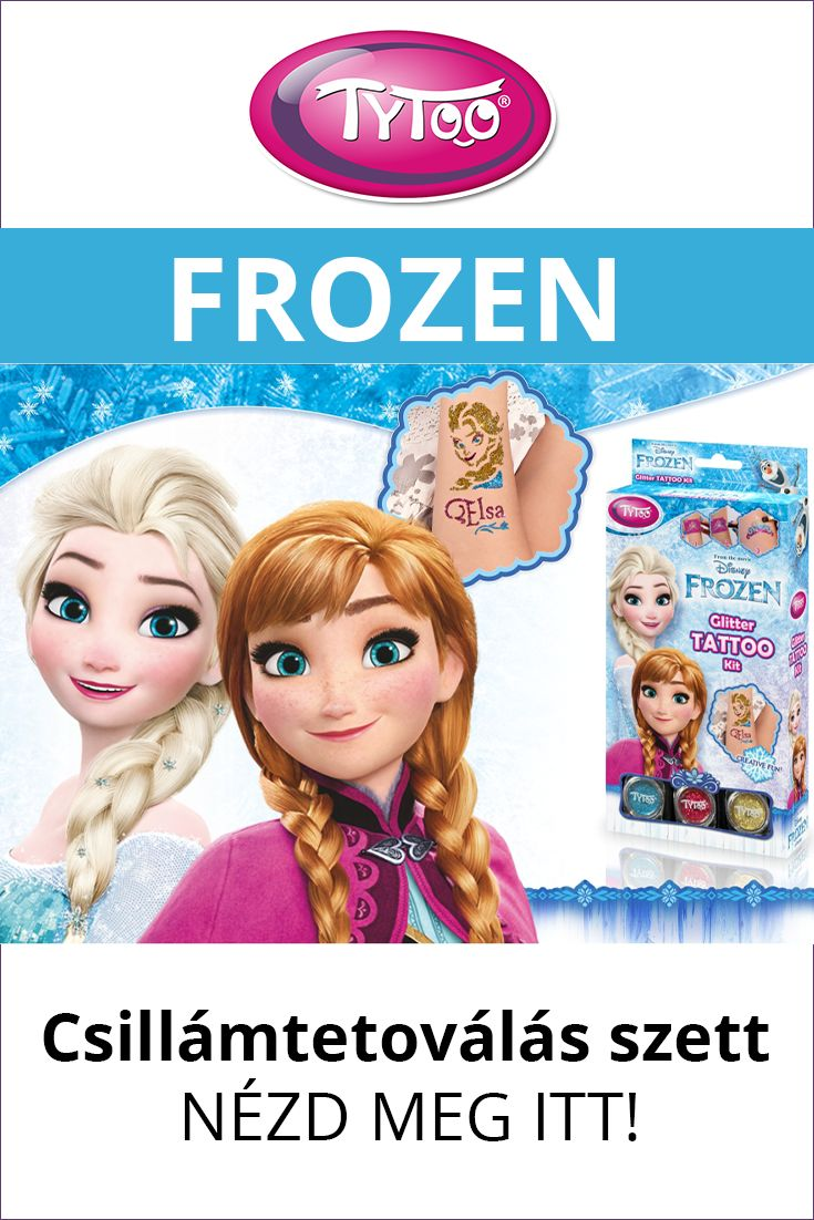 #csillámtetoválás #jégvarázs #frozen #tytoo