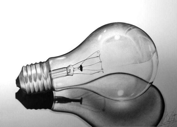 Light Bulb still life by skrob  http://skrob.deviantart.com/art/Light-Bulb-still-life-284360118?q=favby%3Atheant4%2F43512466=11