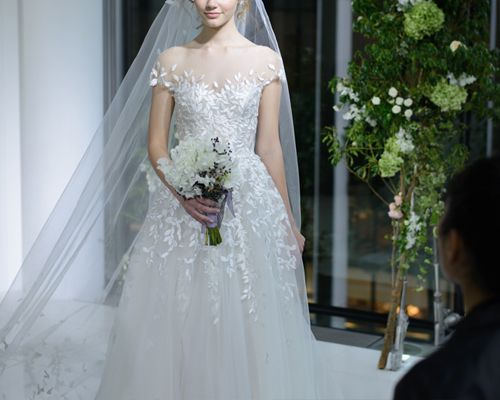 Mira Zwillinger New Charlie dress and veil