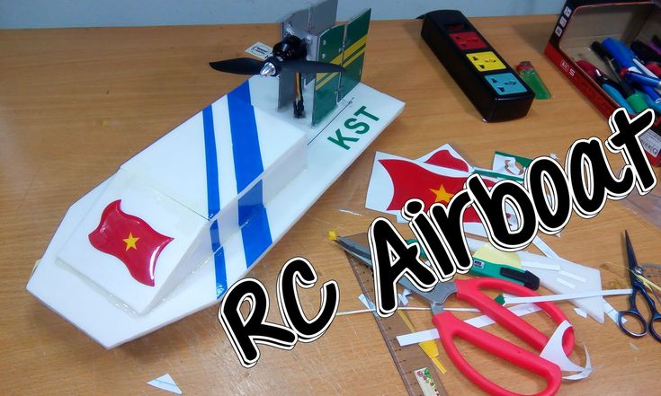How To Build Airboat Rc With Brushless Motor Radio