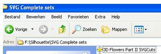 Tutorials Silhouette Cameo: Bestanden: SVG files openen zonder Designer Edition