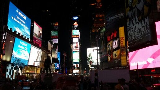 I want to wake up in a city that never sleeps