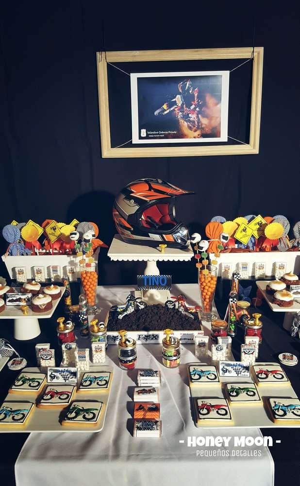 Motorcycles Motocross Birthday Party Ideas   Photo 1 of 30
