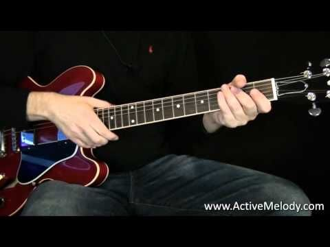how to play rhythm of love on guitar