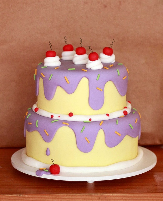 1000 images about cakes that look like cake on pinterest for Cute simple cakes