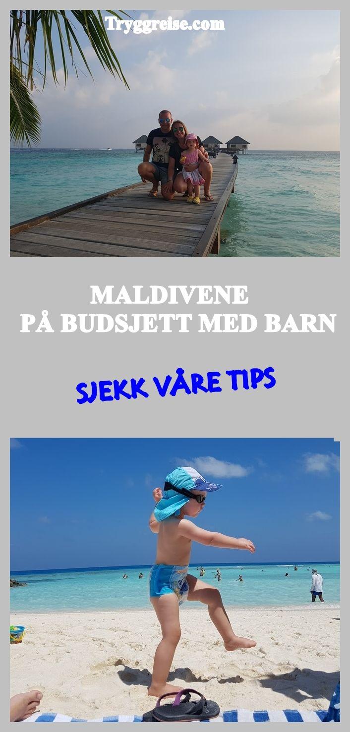 Sjekk våre reisetips til Maldivene med barn.