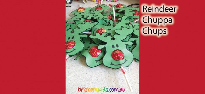 Reindeer lollypops