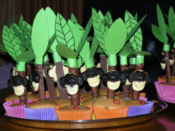 aap in palmboom | Traktatie | Pinterest