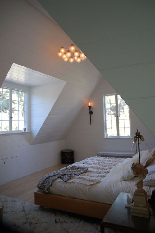 Window Adds A Little More Headroom Lofts Pinterest Lofts Attic And Window