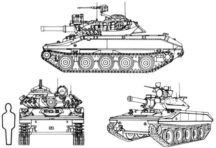 M551 Armored Reconnaissance/Airborne Assault Vehicle