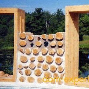 Как построить дом из дров? - ДомЭксперт