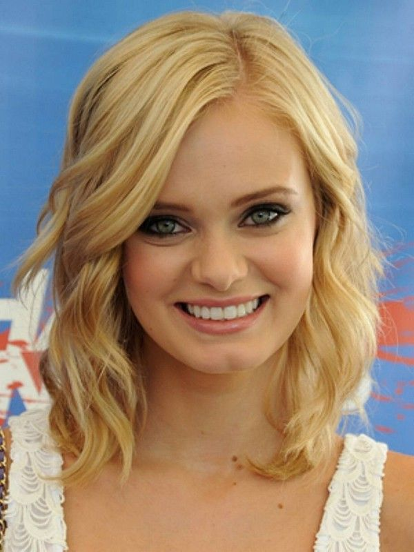 Medium Length Haircuts For Round Faces And Fine Hair