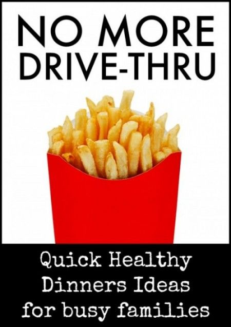 Tired of going through the drive-thru after kid's activities? Promise that this year will be better? Use these quick and healthy dinner ideas and keep your budget and your waist in check this year.