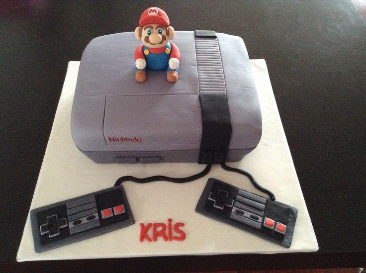 Nintendo Cake with Mario!