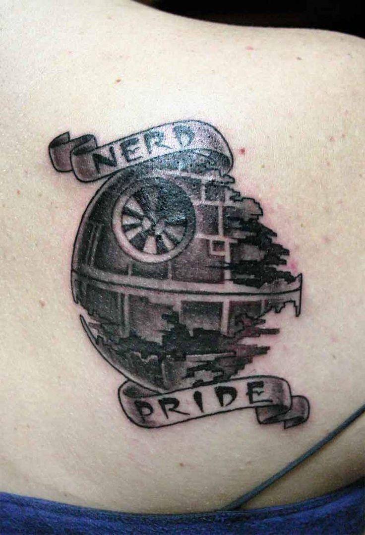 Death Star Tattoo Small: Death Star Tattoo