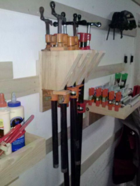DIY Woodworking Ideas French Cleat System « A Shop Worth Having