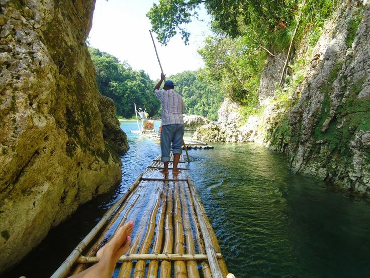 A wonderful and surreal Excursion to book when in #Jamaica!  A Fabulous Life in Jamaica!: {Excursions} Rafting in Port Antonio!