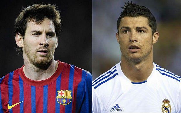 Lionel Messi dan Cristiano Ronaldo Berbagi Predikat Pemain Terbaik Spanyol