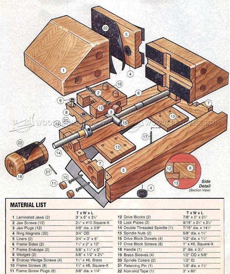 DIY Drill Press Vise - Drill Press