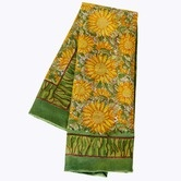 Found it at Wayfair - Sunflower Yellow Green Tea Towel (Set of 3)