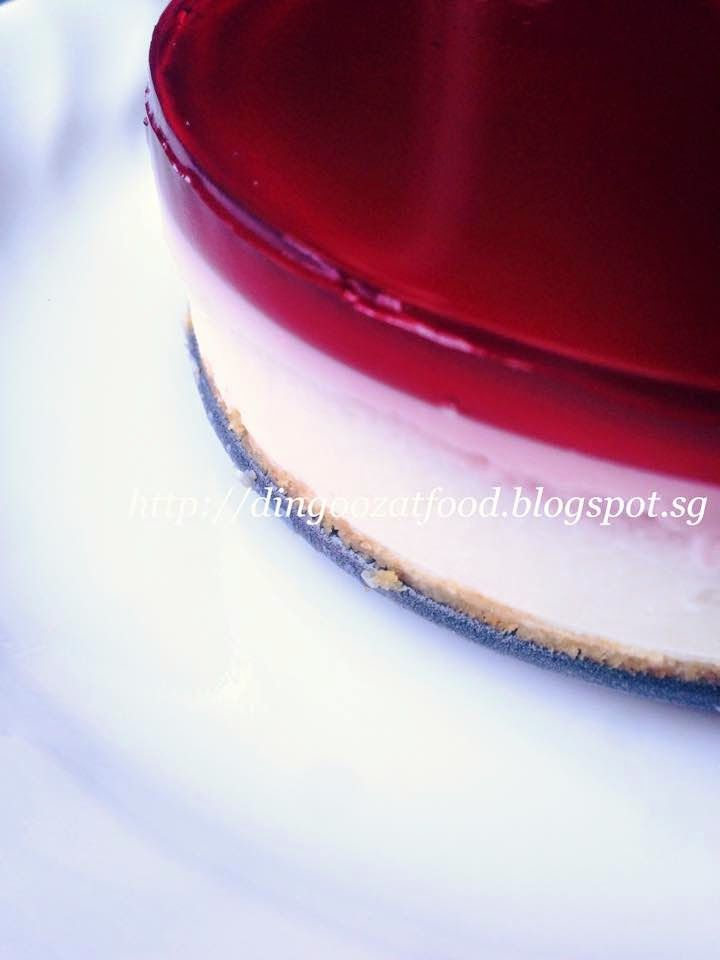 Miki's Food Archives : The Modified Recipe of Ribena Marble Cheesecake (No bake) 利槟纳奶酪蛋糕(免烤,改良版食谱)