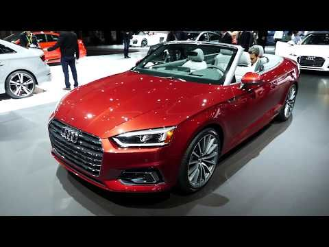 (407) New 2018 Audi A5 2.0T quattro Luxury Coupe Convertible Exterior Tour - 2017 LA Auto Show - YouTube