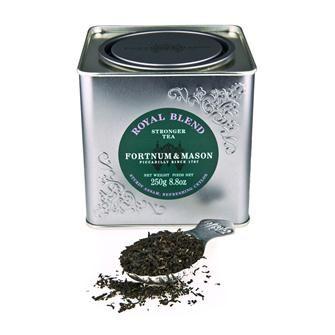 Royal Blend Tea at Fortunum&Mason