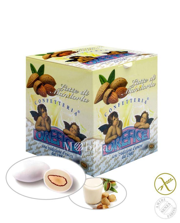 Confetti in offerta ripieni senza glutine latte di mandorla Orefice