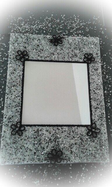 Καθρέπτης με κρύσταλλα