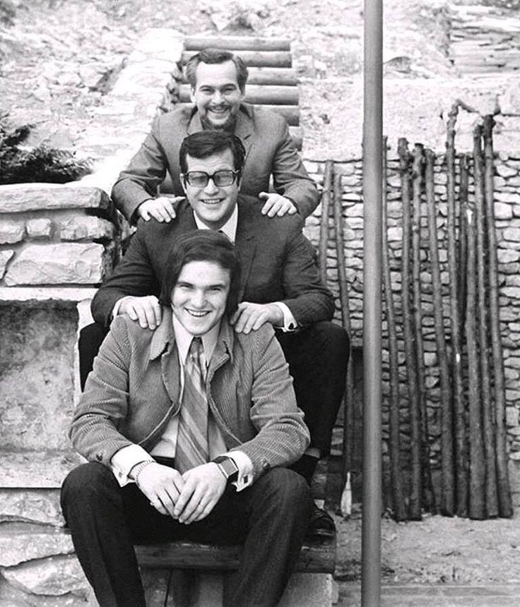 Gundel unokák: Latinovics Zoltán, Bujtor István, Frenreisz Károly