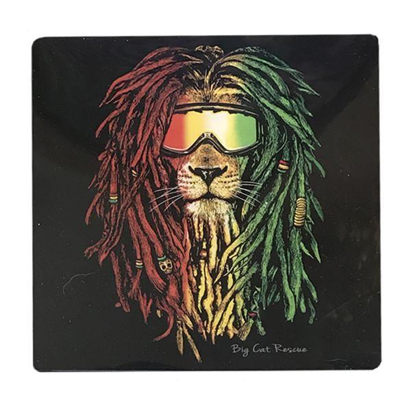 Coaster Set - Rasta Lion