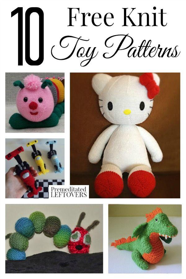 Knitting Patterns Toys Animals Free : Free knit toy patterns cars animals and animal