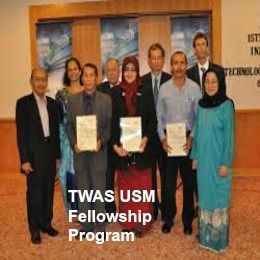 TWAS-USM Fellowship Program for Developing Countries' Scholars in Malaysia, and applications are submitted till 15th September 2015. Applications are invited for TWAS-USM fellowship program available for developing countries' scholars (other than Malaysia).  - See more at: http://www.scholarshipsbar.com/twas-usm-fellowship-program.html#sthash.IWU1mhw5.dpuf