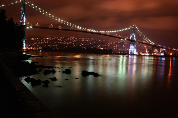 The Most Beautiful Places in North America - Lions Gate Bridge. By kk+