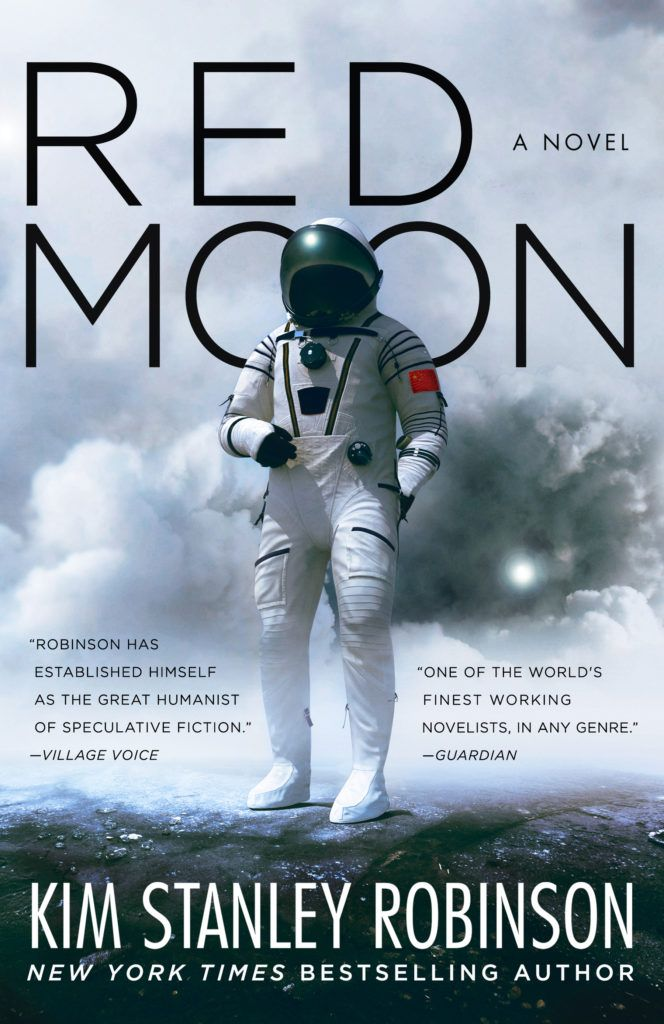 #CoverReveal  Red Moon by Kim Stanley Robinson