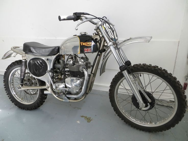 triumph 500 bike roy davis daytona tr5 tony burgess nickel frame pre 65 classic - Dirt Bike Frame For Sale