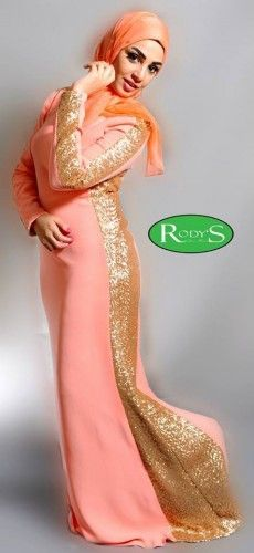 Evening soiree hijab dresses by Rody fashion | Just Trendy Girls