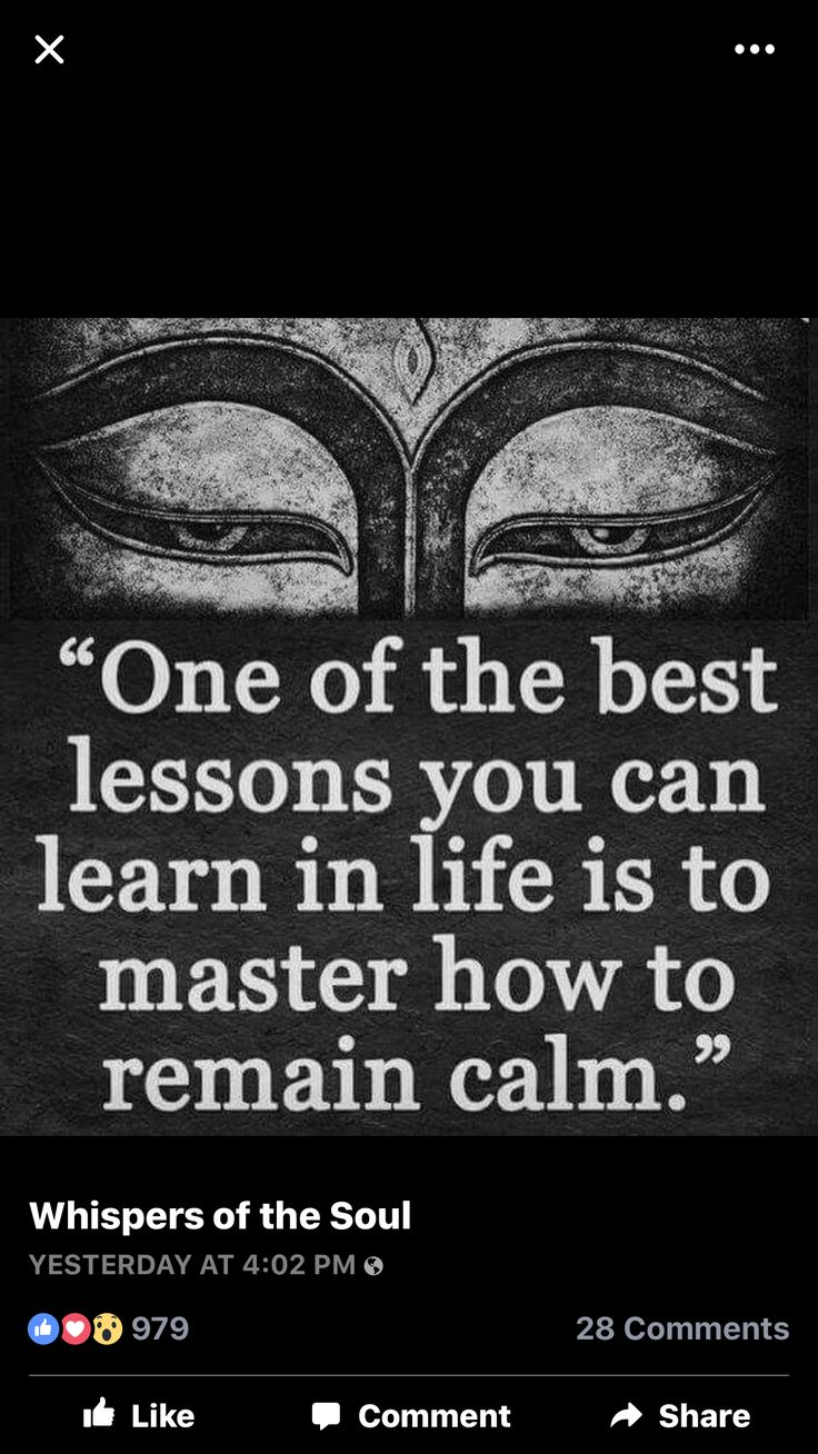Maintaining calm and peace is one of most important parts in learning how to master discipline of mind, thoughts flow and discipline of emotional presence of Self, one of most difficult, especially when life becomes more demanding and you feel overwhelmed