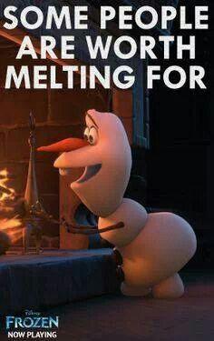 Disney's Frozen movie quote