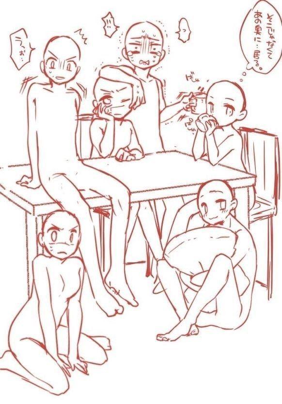 트레이싱 모음 7 : 네이버 블로그 #how to draw anime, how to draw anim…