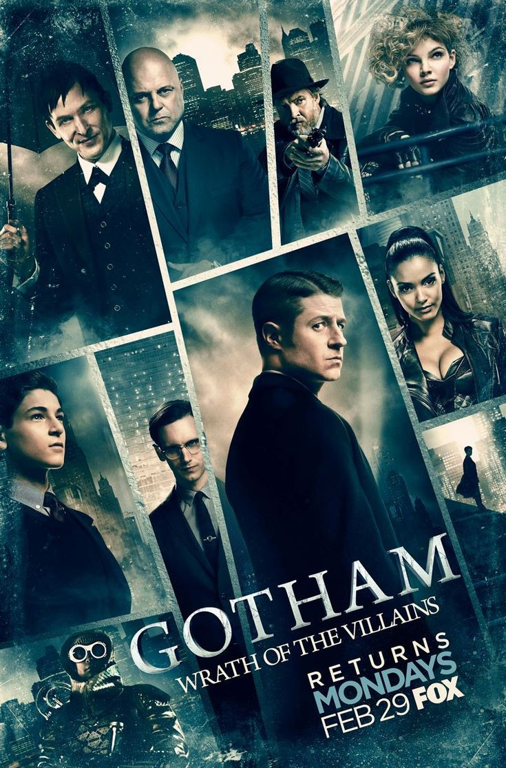 Gotham: Wrath of the Villains. Gotham is back with new episodes: March, 2016! Yay!