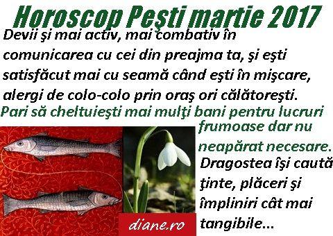 Horoscop martie 2017 Peşti