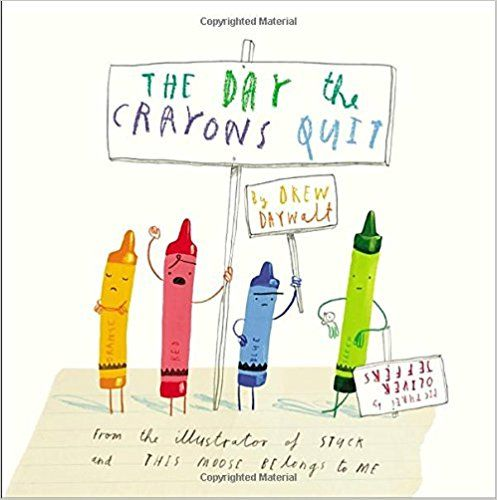 The Day the Crayons Quit: Drew Daywalt, Oliver Jeffers: 8601421257787: AmazonSmile: Books