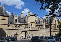 The Hôtel de Cluny (1485-1510), the former residence of the abbots of the Cluny monastery, is now the Museum of the Middle Ages.