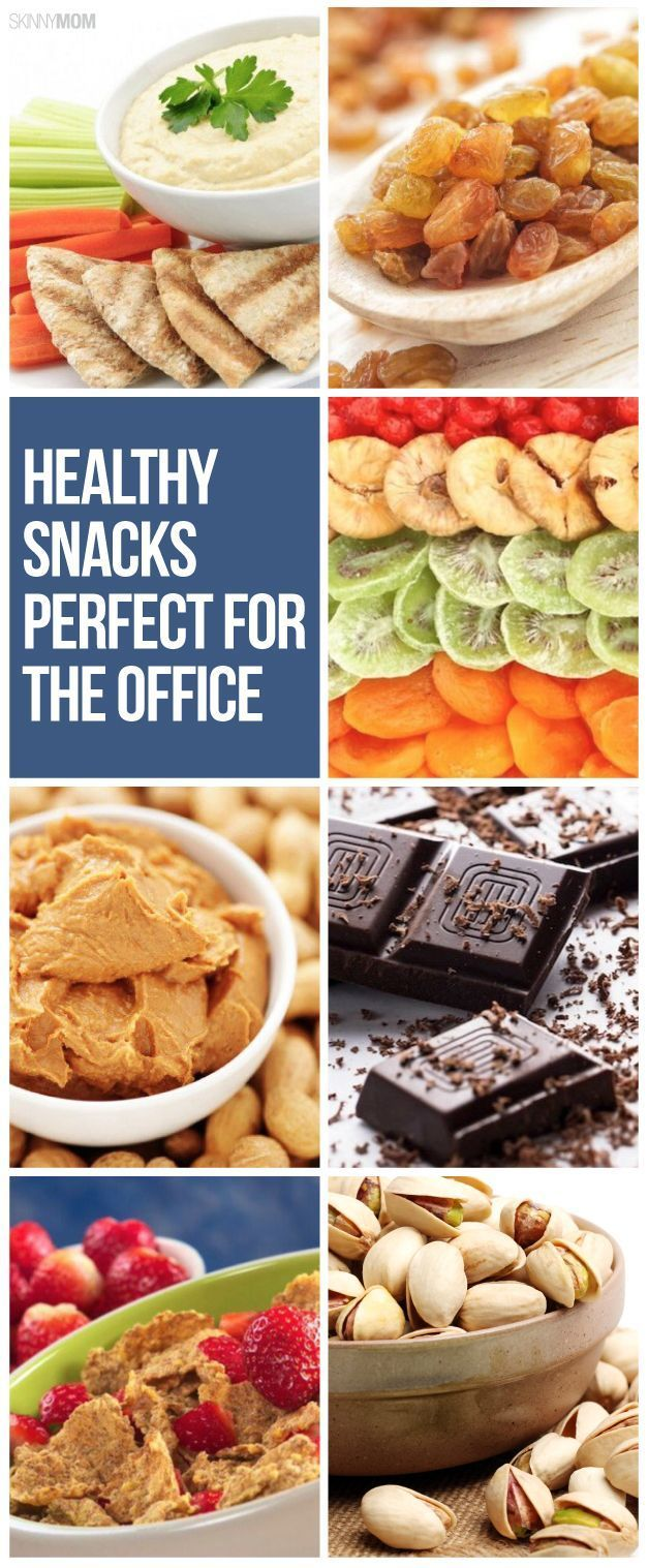Keep your desk stocked with these healthy snacks!