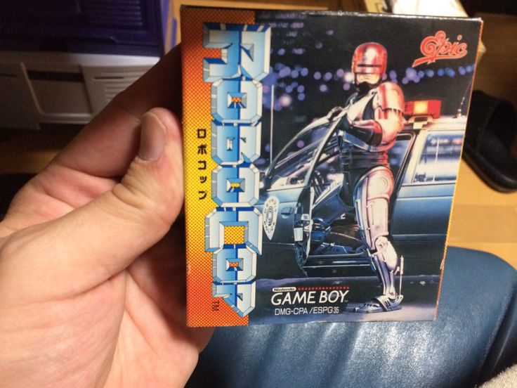 Robocop boxed in its Japanese version - ロボコップ