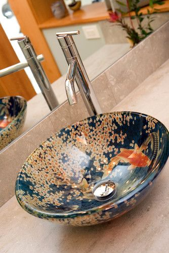 825 best images about koi gold fish on pinterest koi for Koi fish bathroom decorations