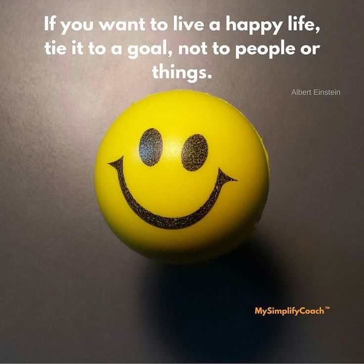 If you want a happy life tie it to a goal not to people or things. (Albert Einstein) #quotes #mysimplifycoach
