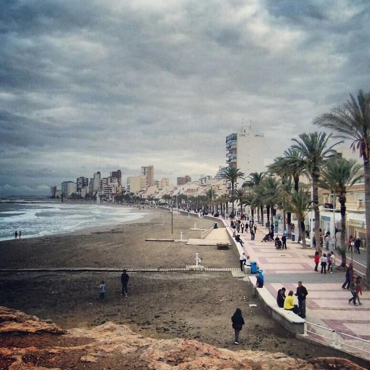 El Campello Beach Promenade
