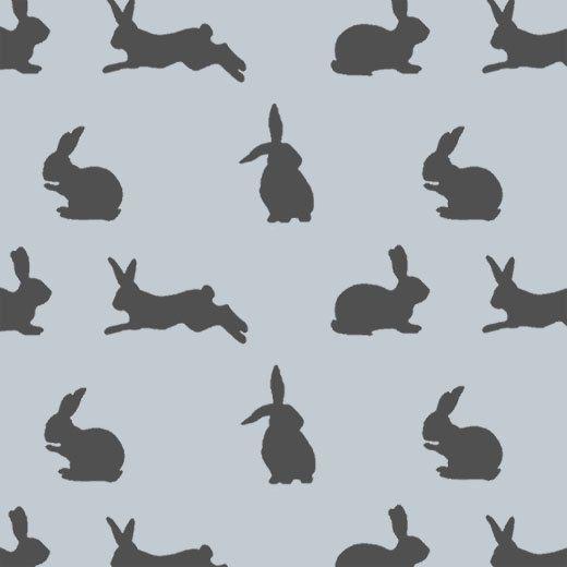 Rabbit stencil Peter rabbit nursery rabbit décor by IdealStencils